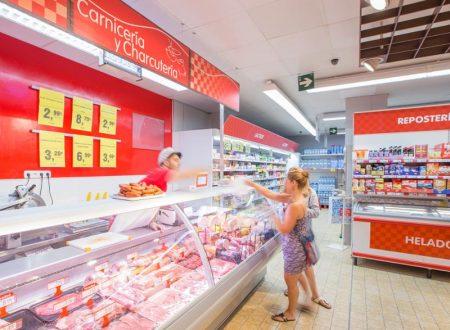 Nel 2017 in Spagna, la spesa alimentare è cresciuta dell'1,3%