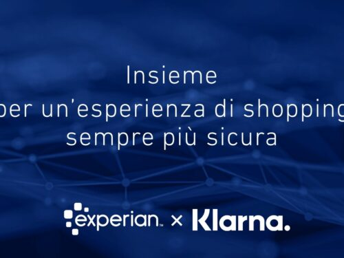 Klarna ed Experian insieme per un'esperienza di shopping sempre più sicura